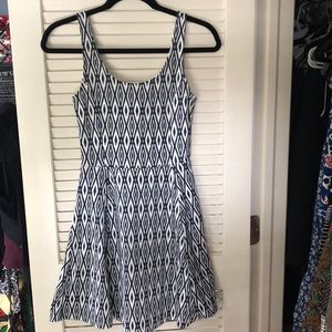 EUC H&M Fit and Flare Sleeveless Dress
